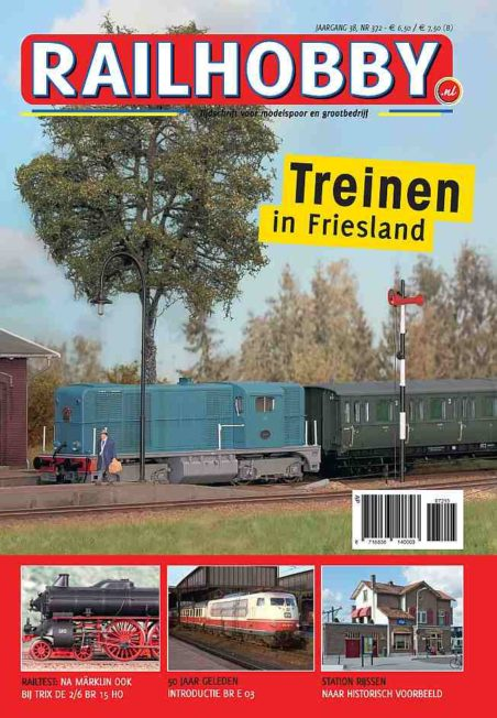 Treinen in Friesland