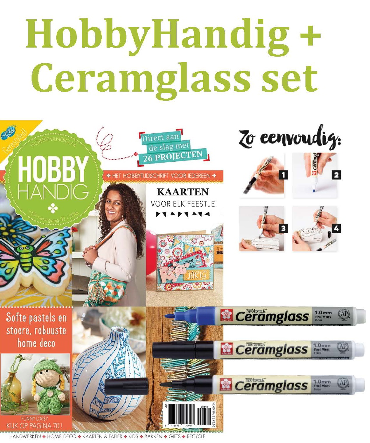 HobbyHandig 191 + ceramglass set
