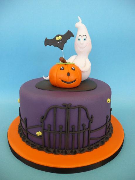 spooky taart