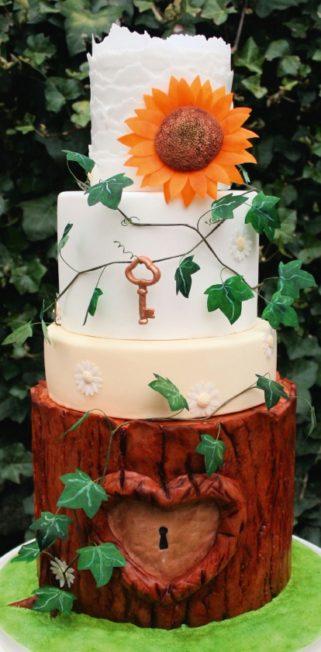 MjamTaart 33 - Romantische taart