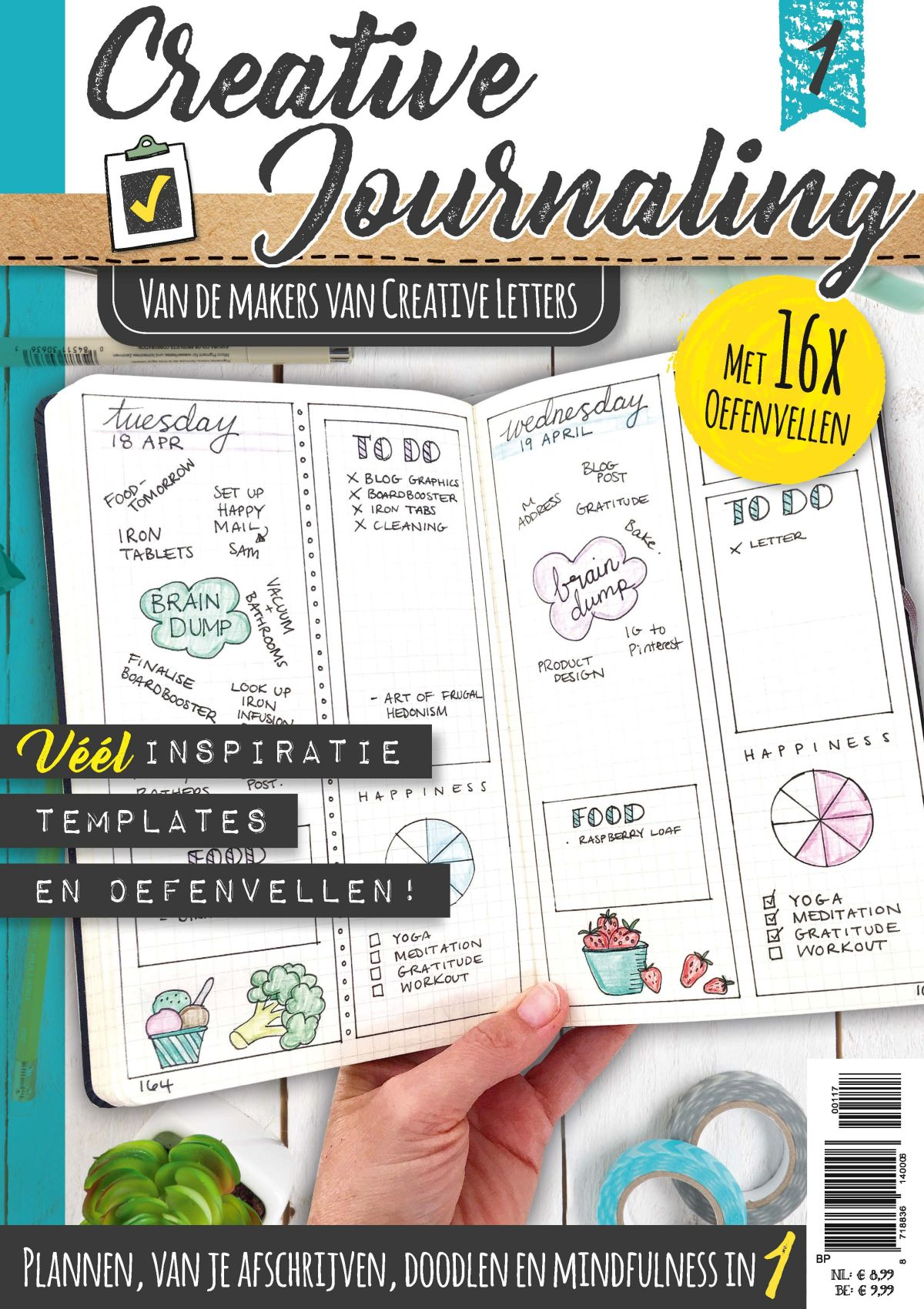 Cover Creative Journaling 1