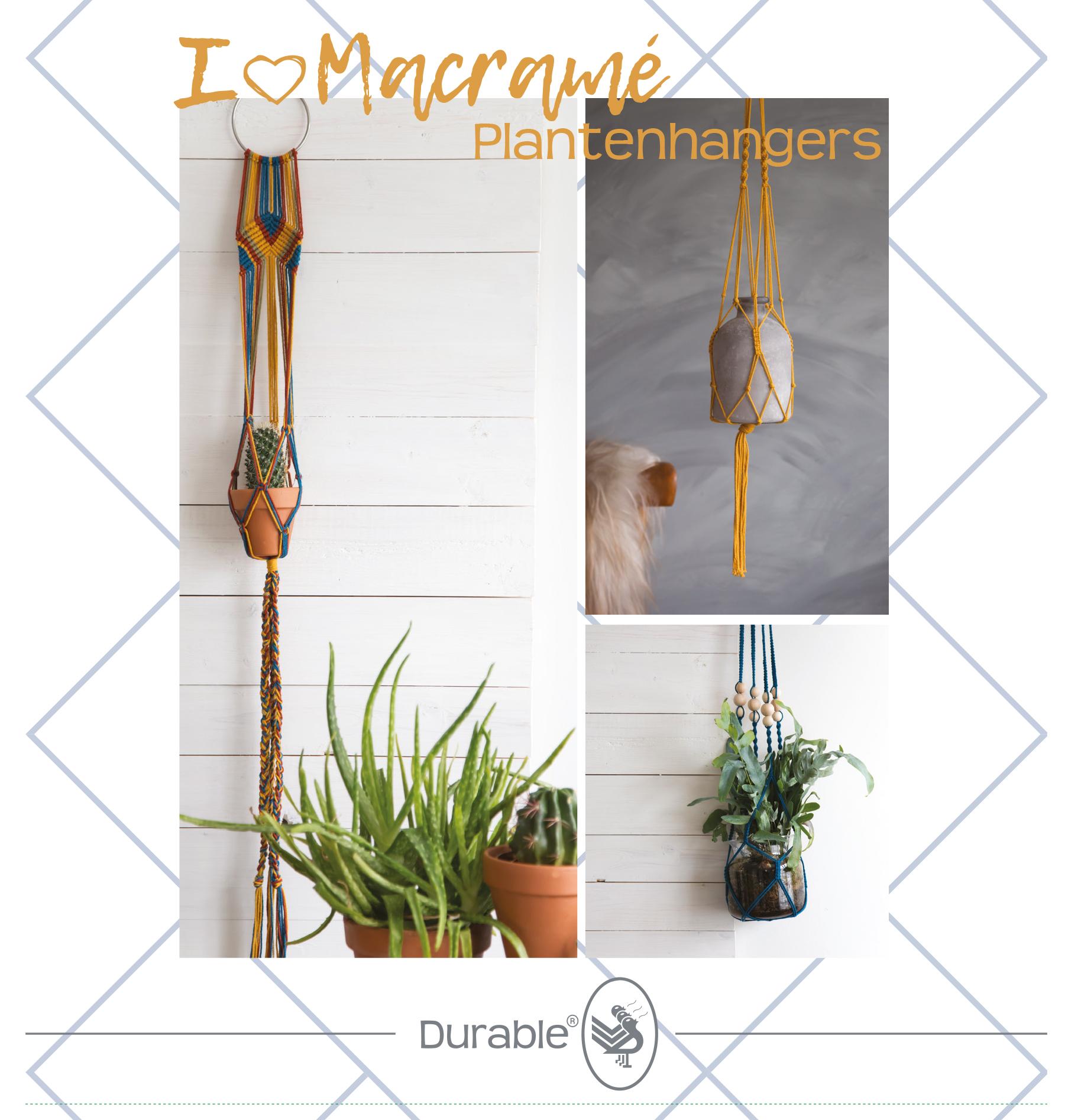 Macramé plantenhangers pakket