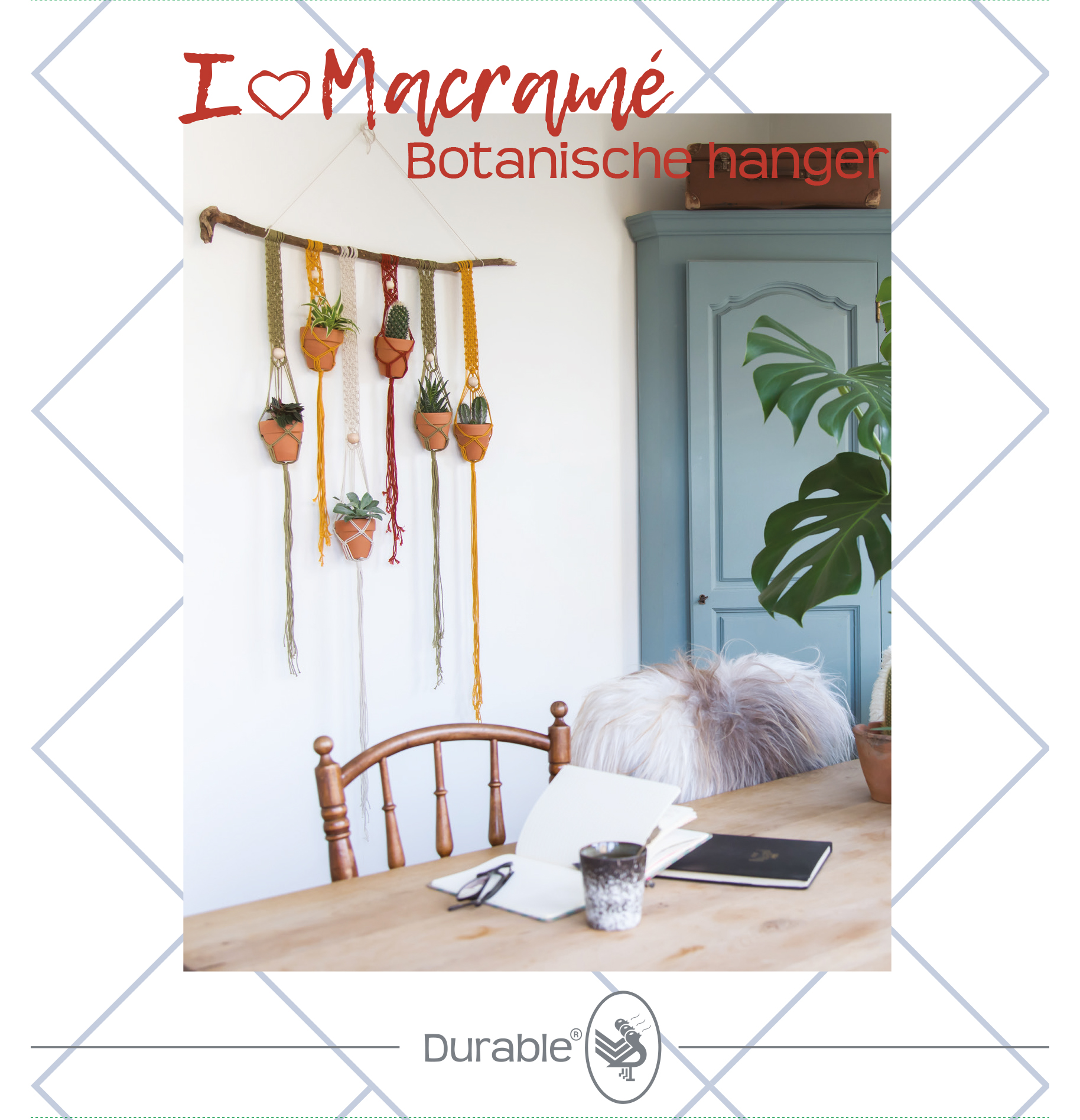 Macramé Botanische hanger pakket