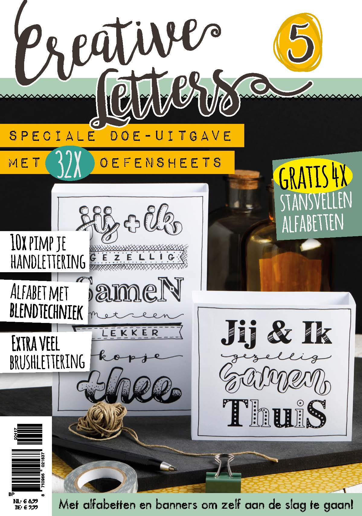 Creative Letters 5 Handlettering Doe Magazine Download Hobbyou