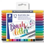 Brush letter duo