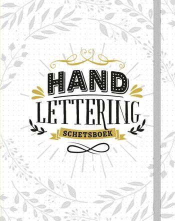 handlettering schetsboek