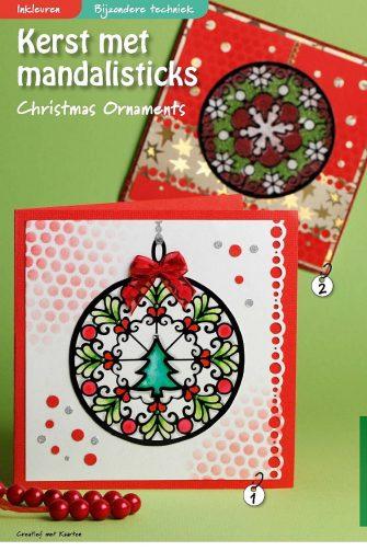 Kerst met mandalisticks