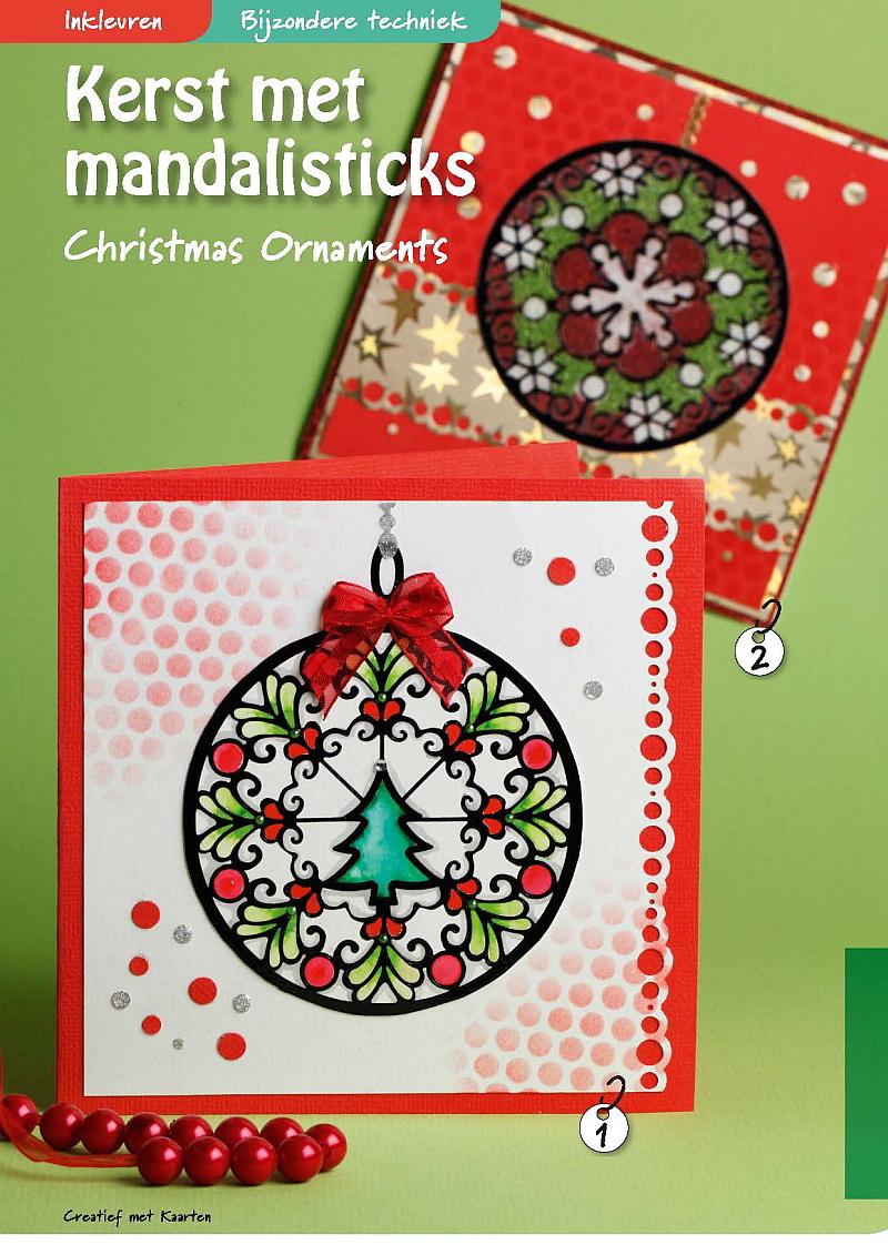 Creatief Met Kaarten 53 Artikel Kerst Met Mandalisticks Hobbyou
