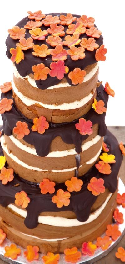 MjamTaart 33 - Naked cake