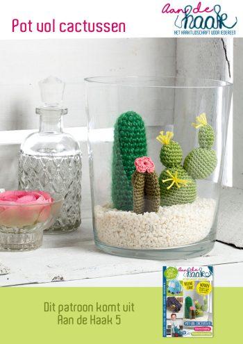 gehaakte cactussen