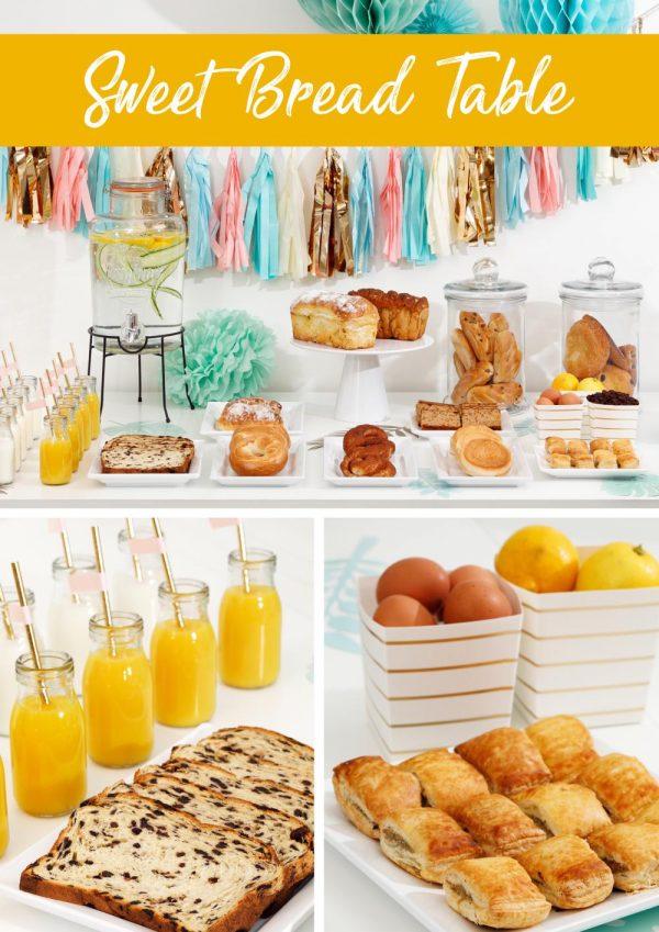 sweet bread table