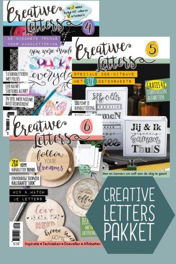 Creative Letters sale pakket