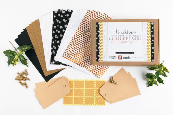 Creative Letter-a-Long Handletter challenge