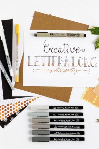 Creative Letter-a-Long pakket