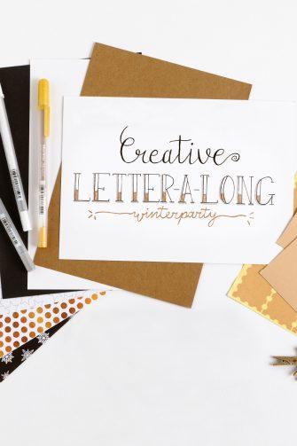 Creative Letter-a-Long papierenpakket