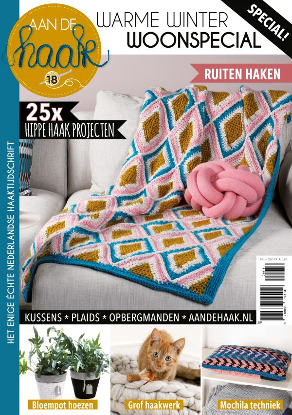 Cover Aan de Haak Warme Winter Woonspecial