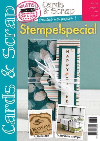 Tijdelijke cover Cards & Scrap Stempelspecial