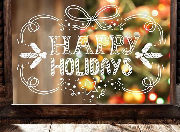 Sfeerbeeld Happy Holidays