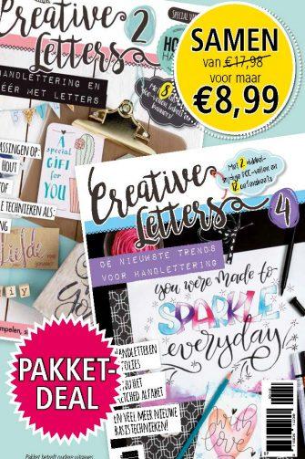 PAKKETDEAL Creative Letters