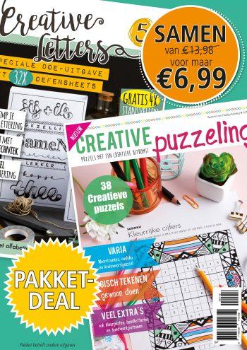 Pakketdeal Creative Puzzeling 5 en Creative Puzzeling