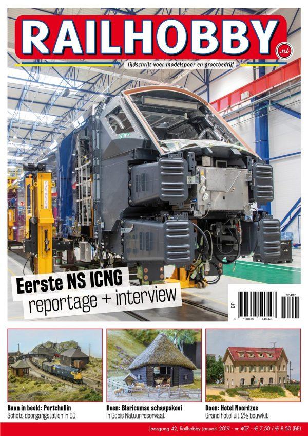 Railhobby, Eerste NS ICNB reportage+interview