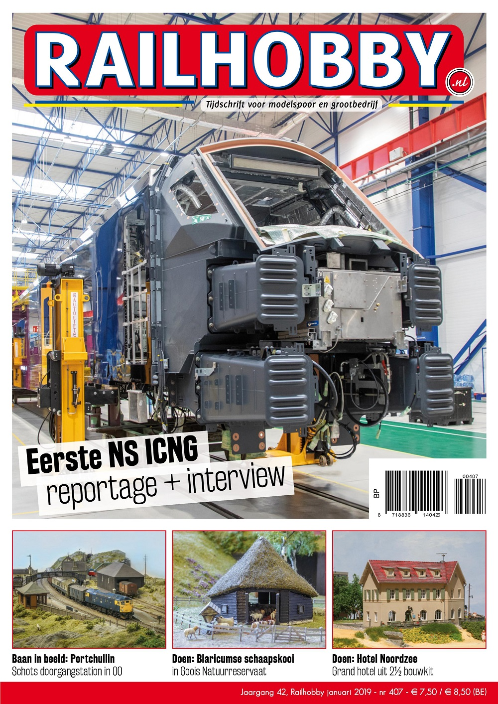 Railhobby, Eerste NS ICNB reportage+interview