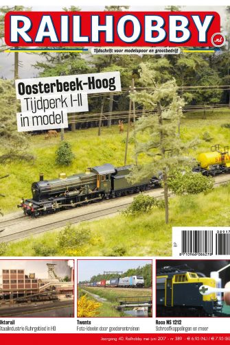 Railhobby, Oosterbeek-Hoog, Tijdperk I-II in model