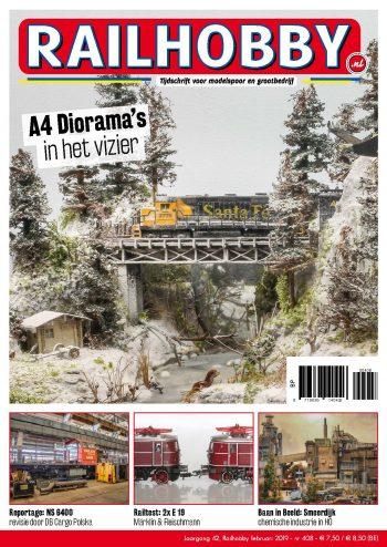 Railhobby 408, A4 diorama's in het vizier