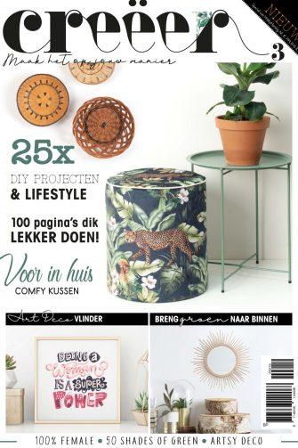 lifestyle, creëer magazine, trends, jungle, voor in huis, home deco, DIY, creatief, creative stijl, trendstijlen