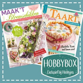 Hobbybox Hobbyou maand april