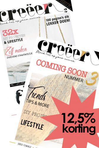 Voordeelpakket, Creëer Magazine, DIY, Lifestyle, Grafisch