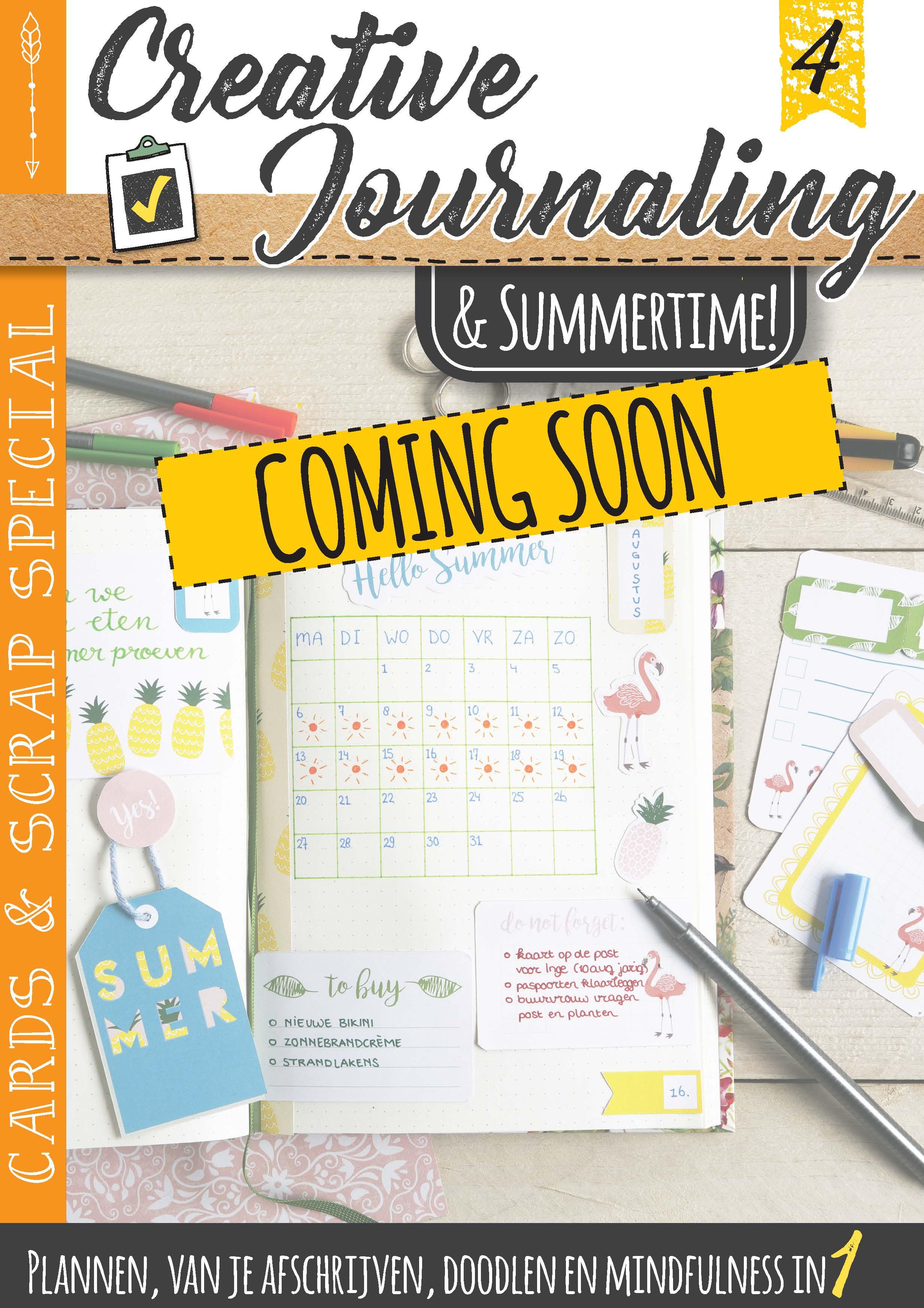 Tijdelijke cover Creative Journaling 4