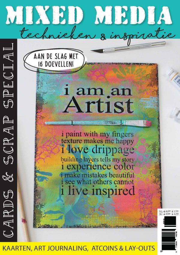 TIjdelijke cover Cards & Scrap 36 Mixed Media