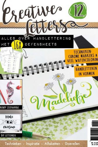 Cover Creative Letters 12