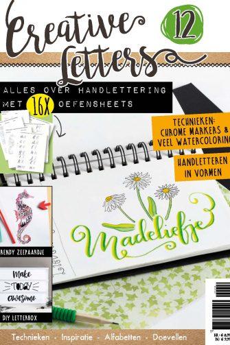 Handletteren, Brushpennen, Marjolein Zweed, Creative Letters, Aquarel, Watercoloring