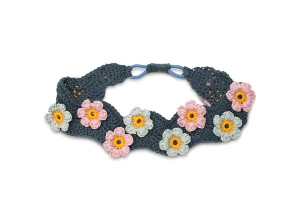 Haakpatroon – Flower power haarband