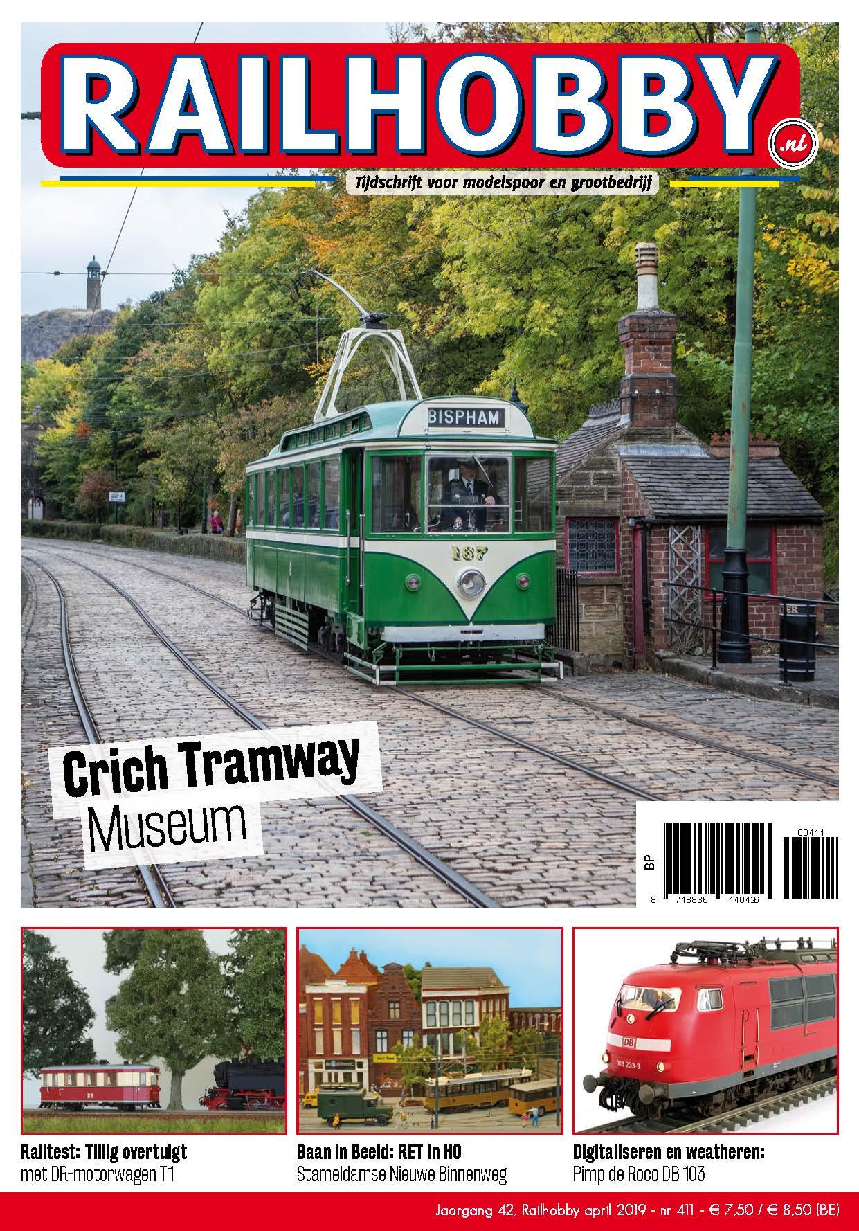 Cover Railhobby 411