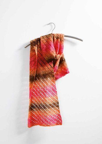 Sjaal haken, Haken sjaal, Haakpatroon sjaal, Sjaal Haakpatroon, Aan de Haak