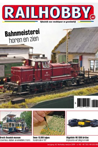 Cover Railhobby 412, treinen
