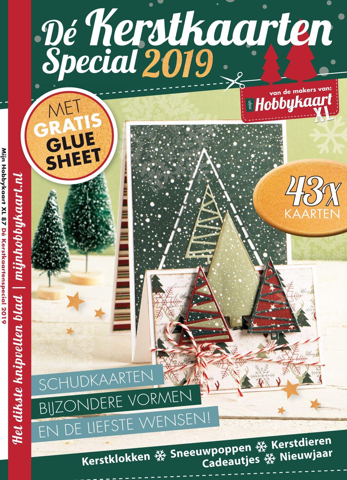 Kerstkaartenspecial, Mijn Hobbykaart XL, kerst, kerstkaarten, hobbywebshop, kaarten maken