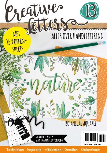 handlettering, creative letters, hobbywebshop, hobbyou, bullet journal