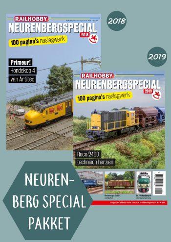 Neurenbergspecial, 2018, 2019 , pakket, tijdschriften, Railhobby
