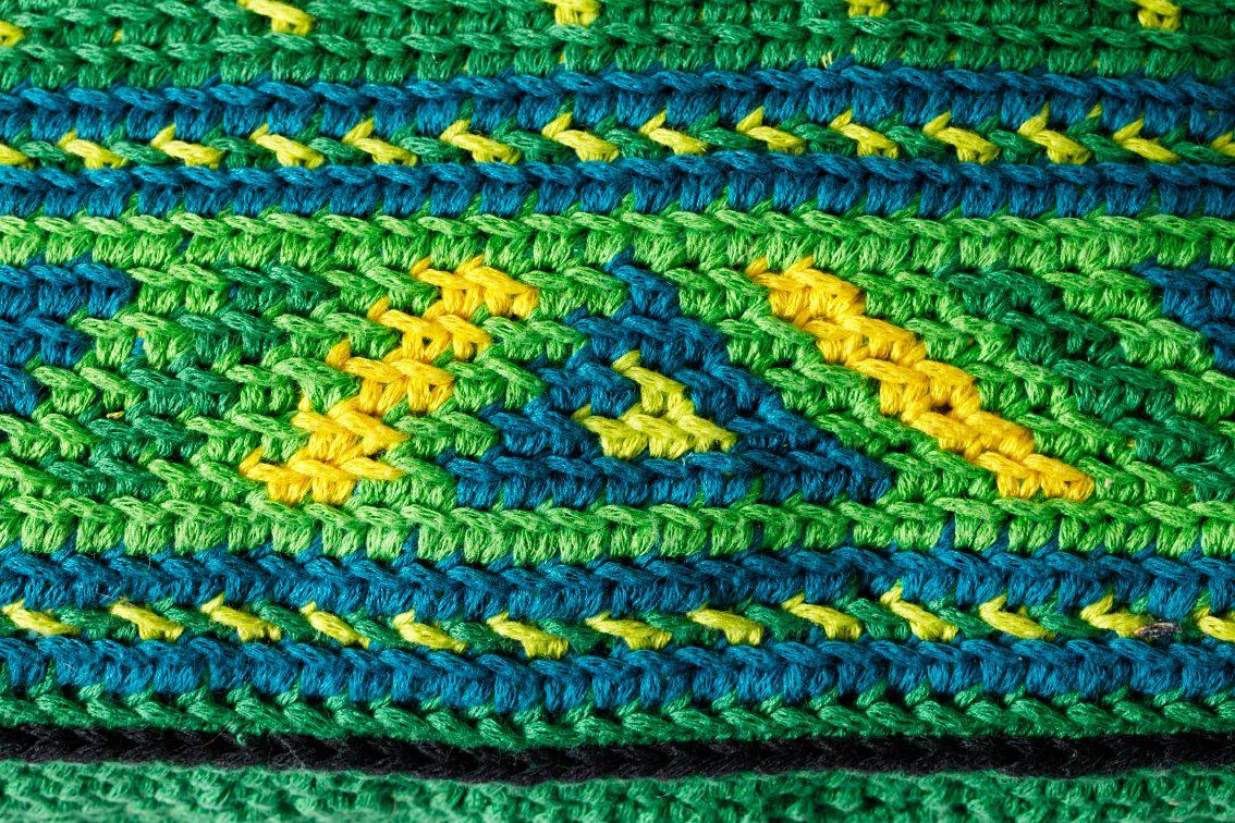 detail patroon mochila