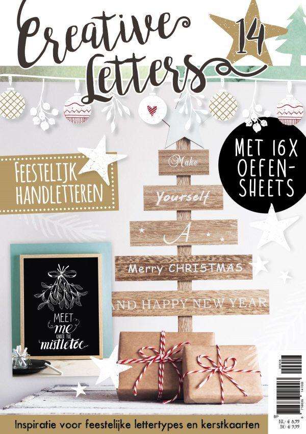 creative letters, handlettering, kerst, kersthandlettering, kerstletters, hobbywebshop
