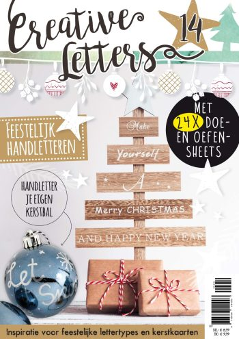 kerst, handlettering, kerstletteren, kerstkaart, bullet journal, versiering, creative letters
