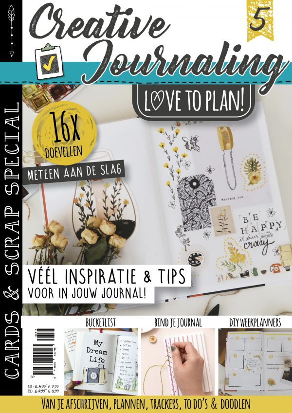 Creative Journaling,Bullet Journaling, Handletteren, Planner