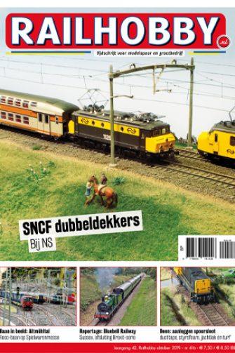 railhobby, modelspoor, dubbeldekker, trein, magazine, train, modelnieuws