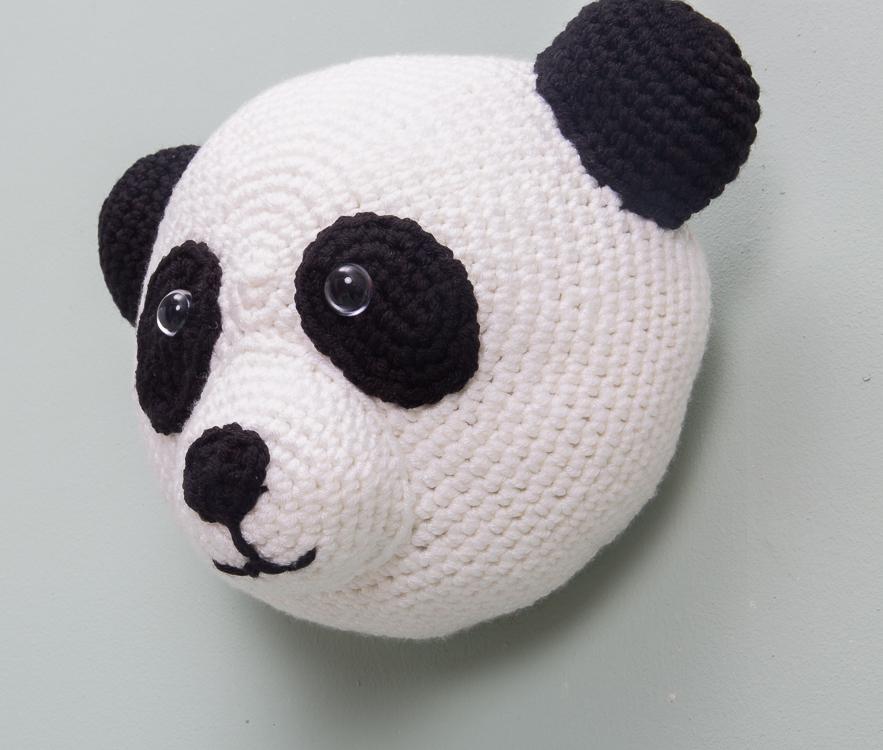Gratis haakpatroon: PANDA   Dieren patronen, Pandaberen, Gratis ...   750x883