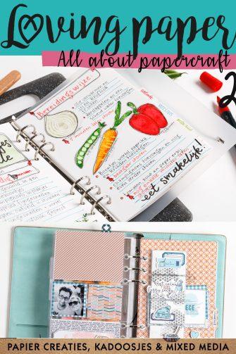 loving paper, papier, papercraft, papierliefhebbers, handletteren, scrappen, mixed media, stempelen