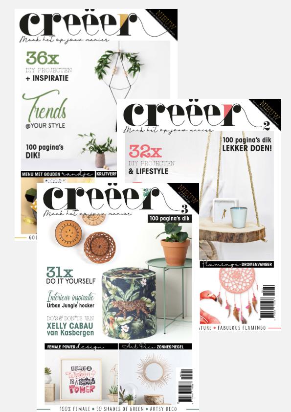 Creëer Magazine, lifestyle, diy, trends, trend, trendstijlen, inspiratie, home deco